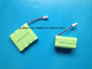 4s 4.8V AA 2500mAh NiMH Battery Pack pictures & photos