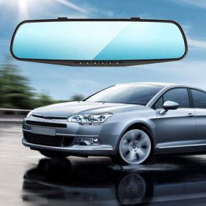 Dual Camera Car DVR Camera Rearview Mirror Dash Cam pictures & photos