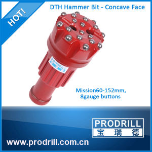 Mission Shank 350mm Diameter Flat Face DTH Button Bit pictures & photos