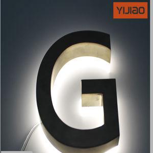 Business Name LED Back Lighting LED Backlit Words Signs pictures & photos