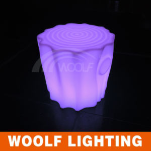 Ce/RoHS Factory Rechargeable Plastic LED Lighting up Tree Chair pictures & photos