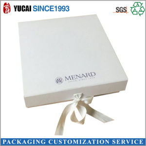 White Cardboard Paper Packaging Gift Box for Sale pictures & photos