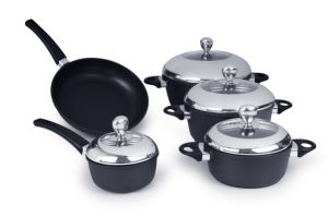 Die Casting Aluminum Frypan with Cover pictures & photos