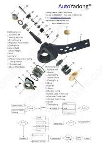 India Tata Slack Arm India Truck Parts pictures & photos