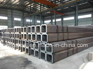 Size Black Mild Steel Hollow Square Steel Tube 100mm*100mm pictures & photos