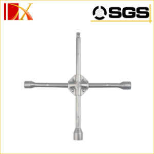 Carbon Steel Cross Rim Wrench X Shape Wrench pictures & photos