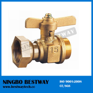 Brass Ball Valve for Water Meter (BW-B60) pictures & photos