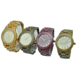 OEM Professional Production Factory Sandalwood Watches Manufacturer pictures & photos