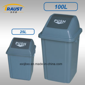Outdoor Plastic Trash Can Tpg-7310 pictures & photos