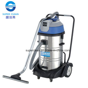80L Stainless Steel Wet and Dry Vacuum Cleaner with Luxury Base pictures & photos