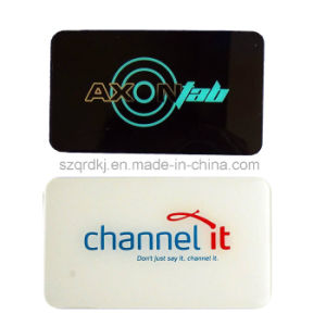 Customize Acrylic Plastic Emblem /Nameplate/ Logo Remind Sign (QRD-018)