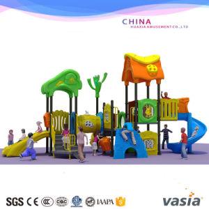 Outdoor Playground Equipment Swing Set Plastic Steel Playground pictures & photos