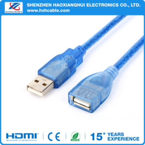 1.5m USB 2.0 Am to Af Extension Wire pictures & photos