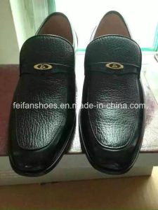 Men Latest Classic Leather Shoes Business Leather Shoes Stock (FF328-6) pictures & photos