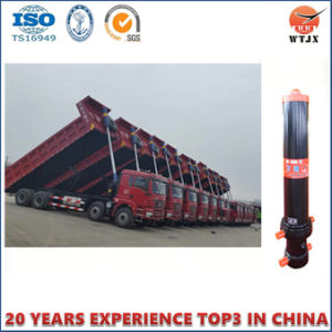 Dumping Telescopic Hydraulic Cylinder for Dump Truck Machinery pictures & photos