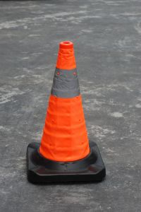 Retractable Traffic Cone for Road Safety pictures & photos