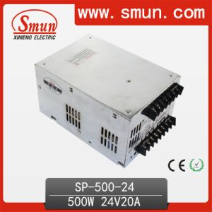 High Effciency 500W 24V Power Supply with Pfc pictures & photos