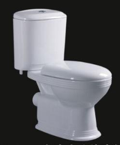 Washdown Two Pieces Ceramic Toilet Bowl for Bathroom pictures & photos