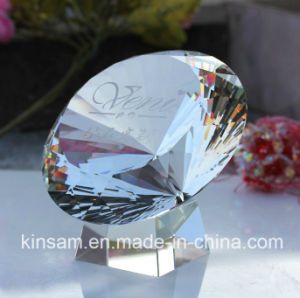 Handmade Large Blue K9 Crystal Diamond Shape Wedding Favors Gift pictures & photos