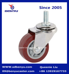 1.5 Inch to 3 Inch Swivel PU Caster for Furniture pictures & photos