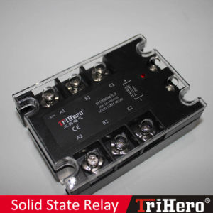 80A DC/AC SSR Solid State Relay 3-Phase pictures & photos