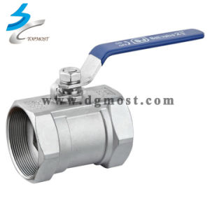 304/316 Precision Casting Hareware Metal Butterfly Ball Valve pictures & photos
