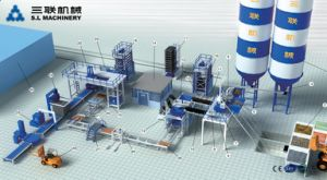 Qft12-15 Fully Automatic Concrete Block Machine Production Line pictures & photos