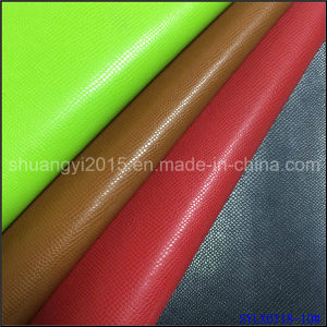 PU Leather Shoes Lining Material Hot Stamping for Cover pictures & photos