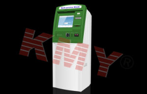 Custom Touch Screen Card Reader and Cash Acceptor Self Payment Kiosk with Receipt Printer pictures & photos