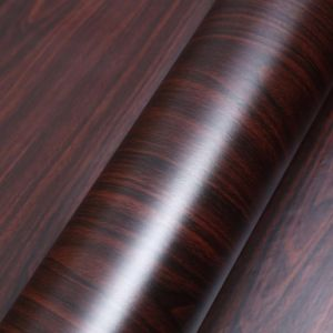 PVC Wood Decorative Wallpaper Furniture Renovation Waterproof Retro pictures & photos