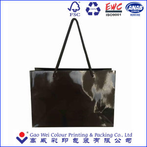 Eco Friendly Custom Printed Shopping Gift Paper Bag with Logo Print pictures & photos