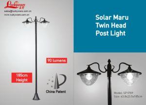 Solar Maru Post Light-Sp1p09 pictures & photos