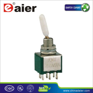 3-Way on-off-on 12V Toggle Switch (KNX-203-D1) pictures & photos