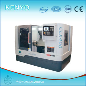 Low Price and High Quality Slant Bed CNC Lathe (CLX400-K)