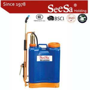 20L Knapsack/Backpack Manual Hand Pressure Brass Cylinder Sprayer (SX-LK20U) pictures & photos