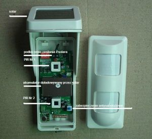 2 PIR IP65 Water Proof Wireless Outdoor Solar-Powered Motion Detector with Pet Immunity (OSD-40DP) pictures & photos