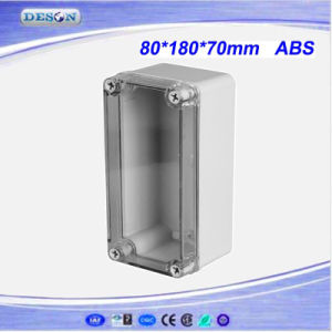 Clear Cover IP66 ABS/PC Toyogiken Waterproof Box 80X180X70mm pictures & photos