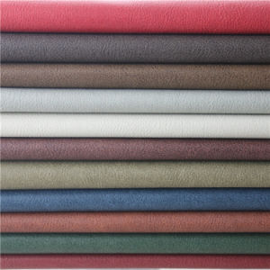 Retro Style PVC Synthetic Furniture Leather for Sofa Material pictures & photos