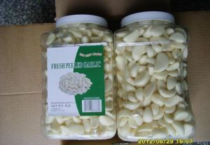 Fresh Peeled Garlic in China pictures & photos