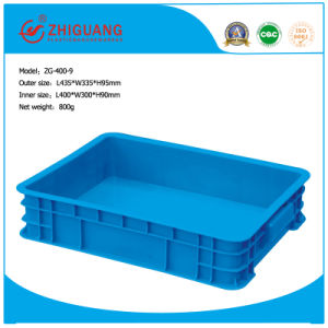 100% New Material HDPE Plastic Turnover Box pictures & photos