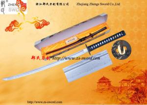 Folded Steel Full Tang Handmade Japanese Samurai Sword Collectible
