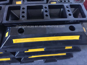 Rubber Wheel Stopper Exported to Dubai pictures & photos