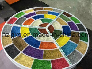 Colorful EPDM Granules for Kindergarten pictures & photos