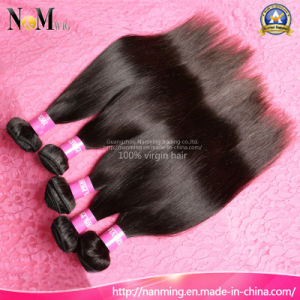 Wholesale Factory 100% Human Peruvian Straight Hair pictures & photos