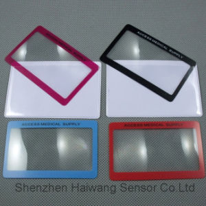 Wholesale Price Large Size Name Card Magnifier Lens (HW-808) pictures & photos