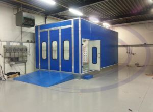 (WLD8400) Water Based Auto Car Paint Spray Booth with Best Quality Germany Quality pictures & photos