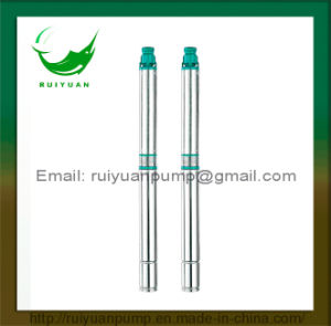 90QJD 1.5HP Copper Wire Stainless Steel Submersible Deep Well Pump Single/Three Phase (90QJD2-12/1.1KW) pictures & photos