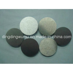Pure Wolfram Disc for Sapphire Crystal Vacuum Furnace pictures & photos