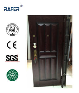 New Design Dark Color Steel Door (RA-S020) pictures & photos