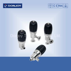 Ss 304 Welding Sanitary Mini-Type Safety Valve for Pharmacy pictures & photos